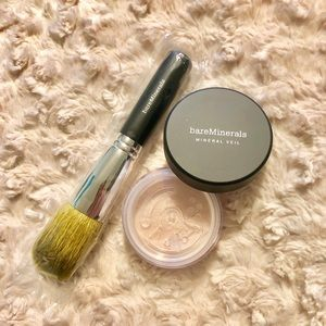 bareMinerals Mineral Veil + Flawless Face Brush